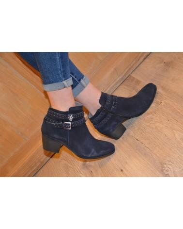 Boots bleu marine femme MKD