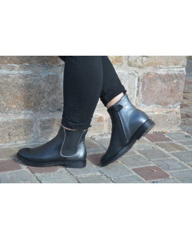 Boots noirs ACEBO'S