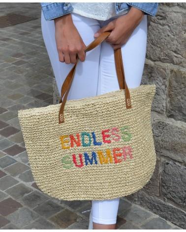 """Sac en paille """"endless summer"""" AUREN"""